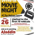 Drive-In Movie Night June 26th!